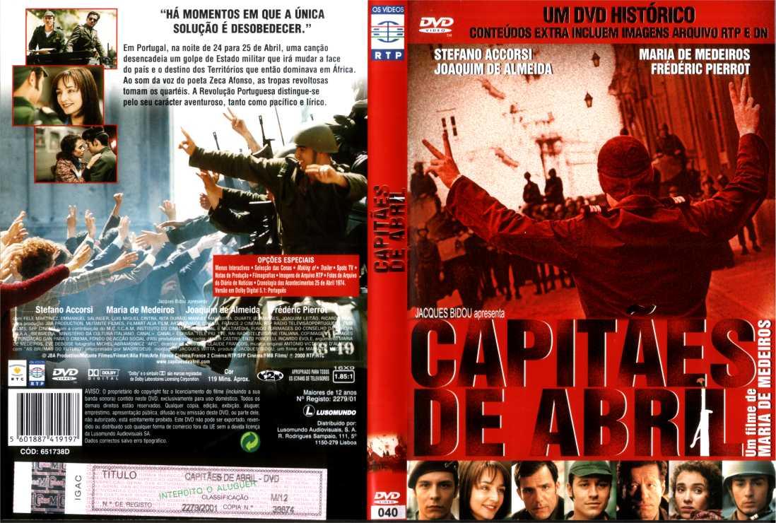 Capitães de Abril - DVD