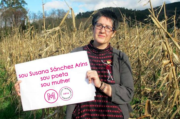 Susana Sánchez Arins, poeta no milho