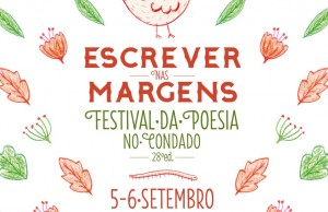 Cartaz do XXVIII Festival de Poesia do Condado - Escrever nas margens (2014)