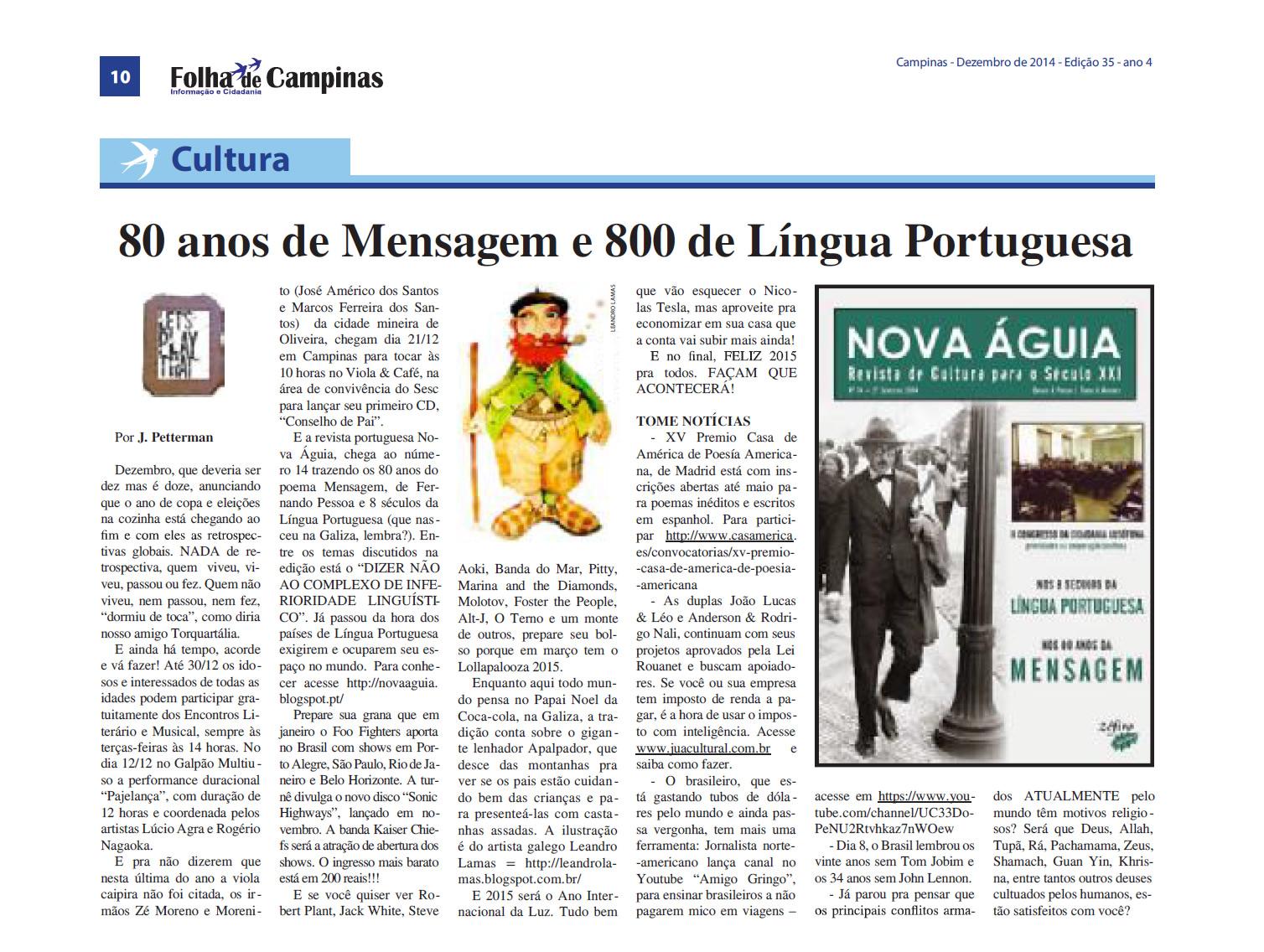 Apalpador Folha de Campinas 2014