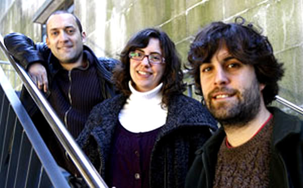 Maurício Castro, Beatriz Bieites e Eduardo Maragoto