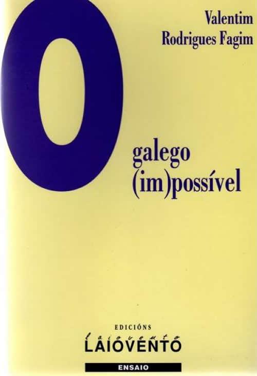 Capa da primeira edição de 'O galego (im)possível' (2001)