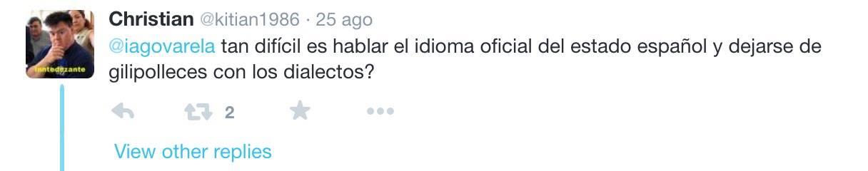 galegofobia - dialectos