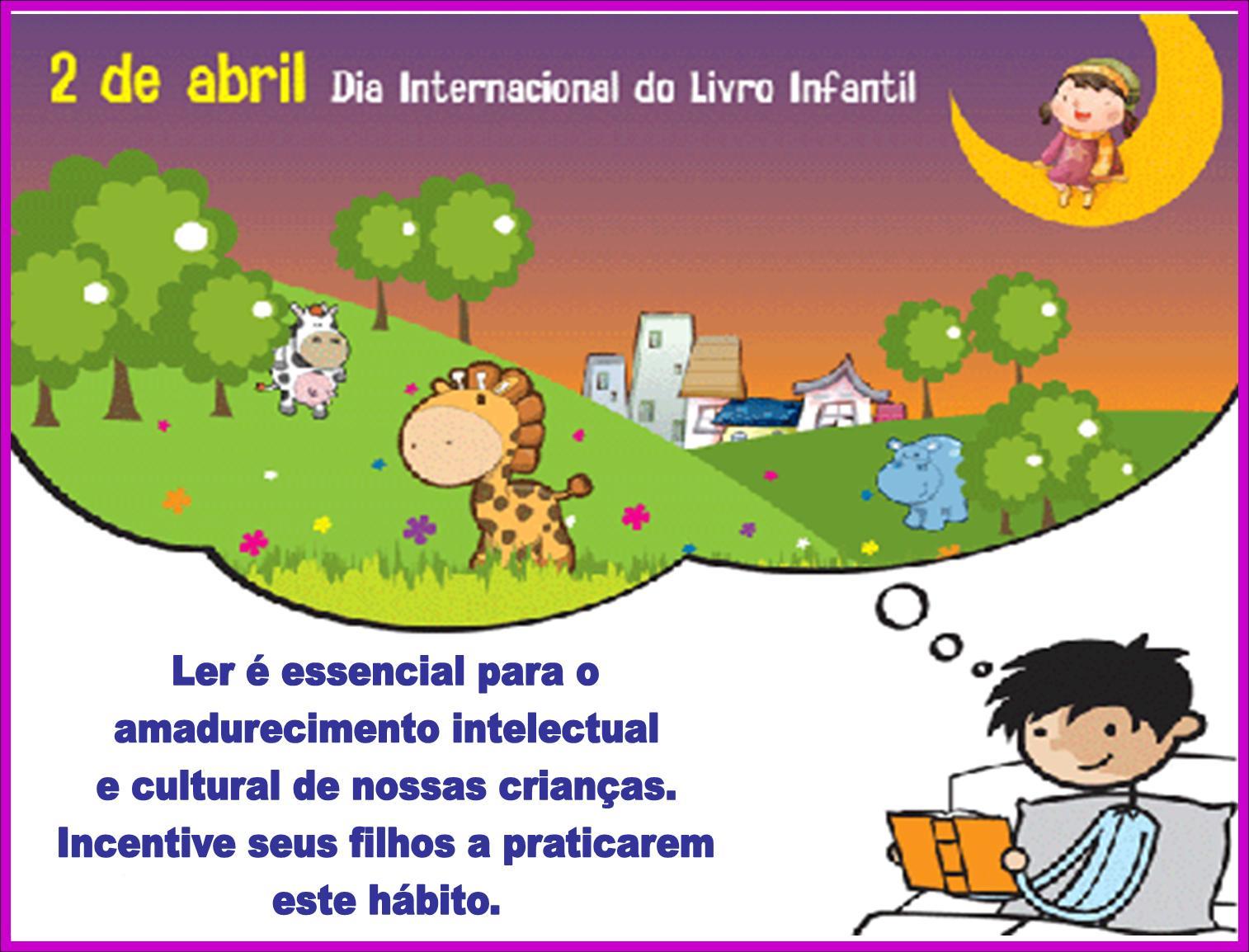 Incentivar A Leitura Entre As Crianças No Dia Internacional Do