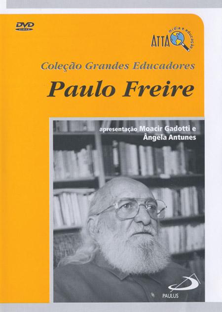 PAULO FREIRE Capa DVD Grandes Educadores