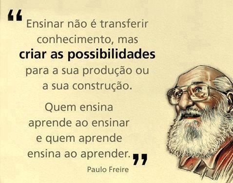 Paulo FREIRE texto sobre o que é ensinar