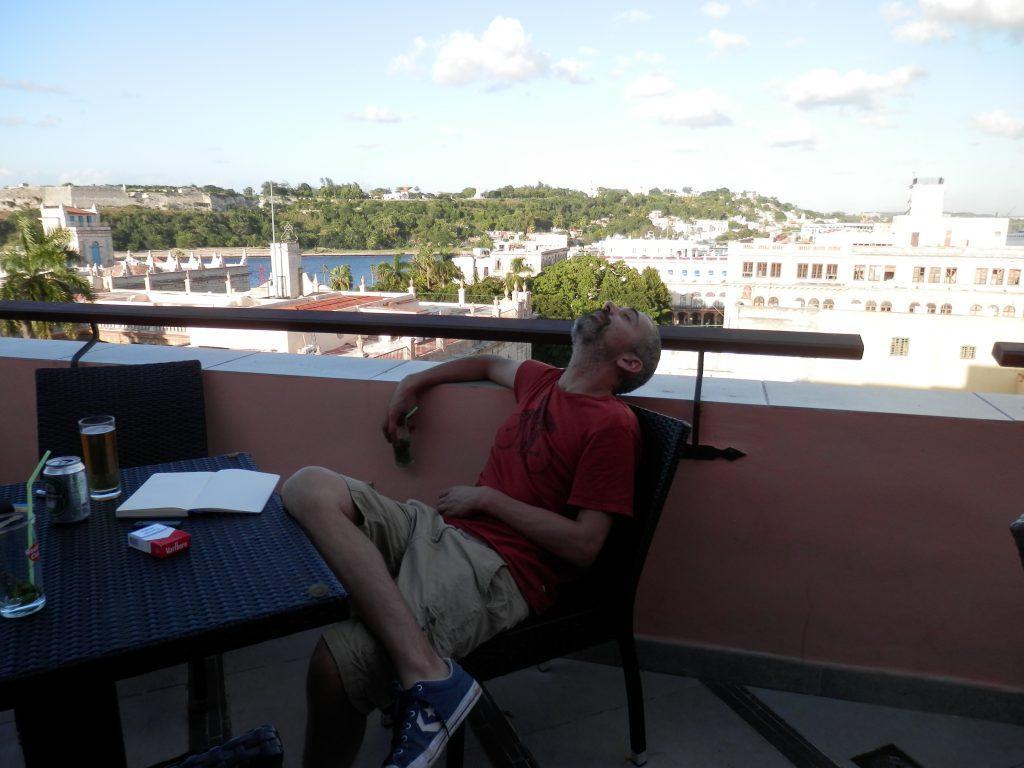 Num Terraço na Havana