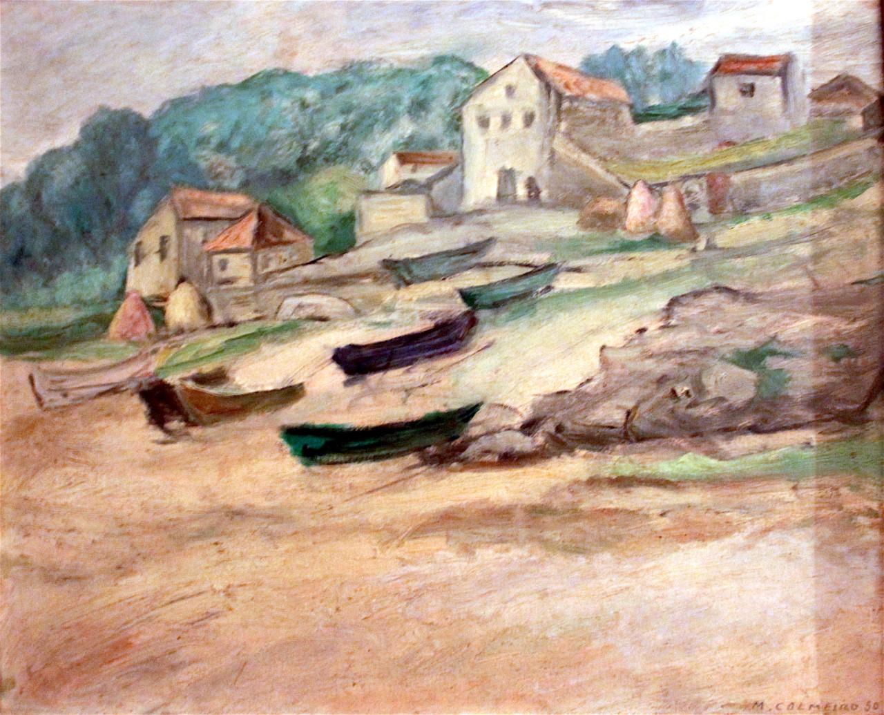 Praia da Calçoa, Colmeiro 1950