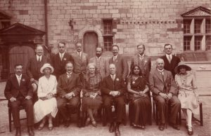 BEATRICE ENSOR e os FUNDADORES da WORLD EDUCATION FELLOWSHIP 1921