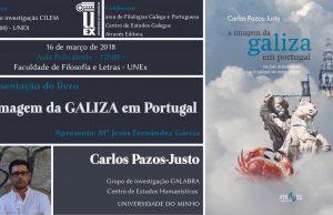 Lançamento de 'A imagem da Galiza em Portugal' em Cáceres @ Faculdade de Filosofia e Letras da UEX (Av. da Universidade, s/n - Cáceres) | Cáceres | Extremadura | Espanha