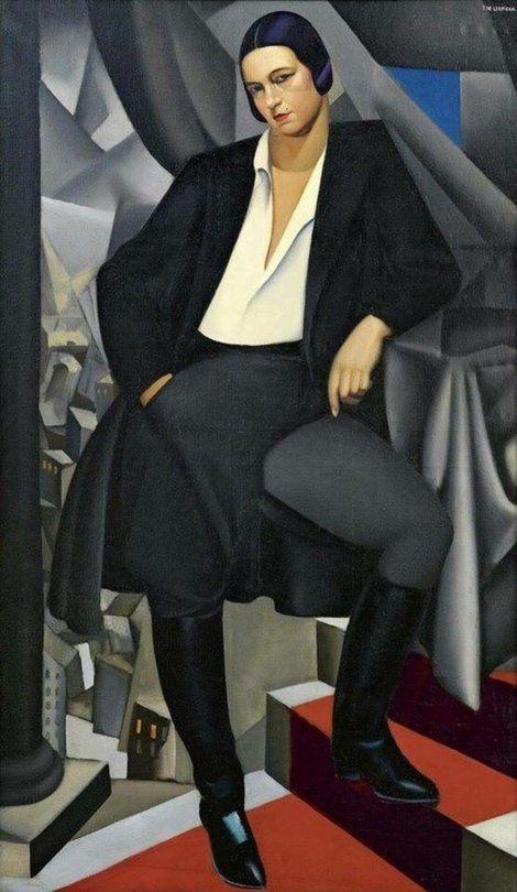 3º. Retrato da Duquesa de la Salle.-1925.