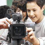 OUFF-Escola. Crianças a filmar