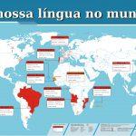 mapa - A nossa língua no mundo