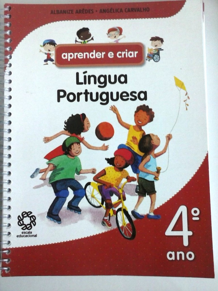 Livro de ensino da língua portuguesa