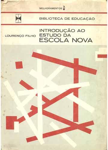 Escola Nova Livro de Lourenço Filho
