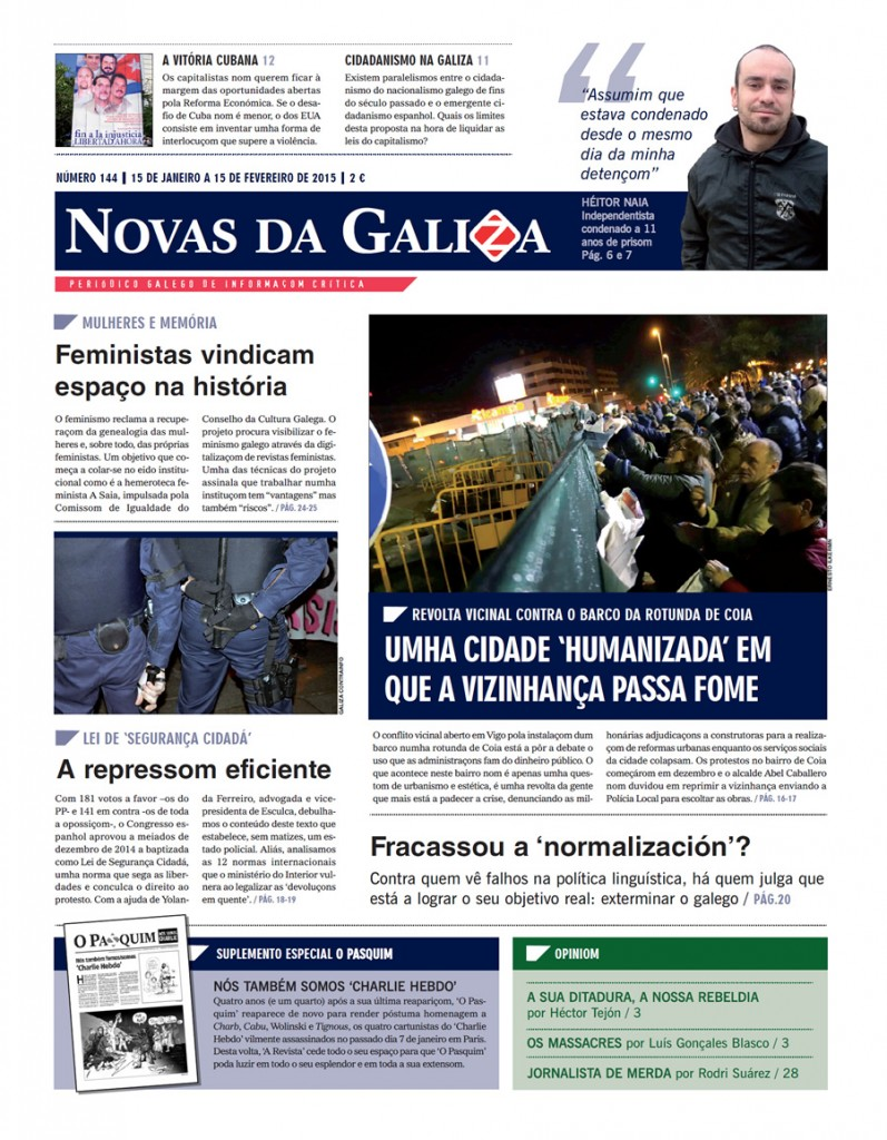 Capa do NGZ n.º 144