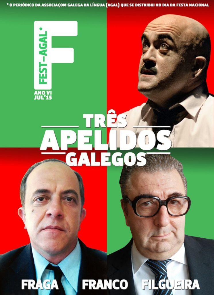 Capa do 'Fest-AGAL' 2015