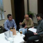 Corredera, Martín Galindo e Maragoto | Foto: sierradegatadigital.es