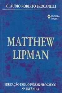 Matthew Lipman Capa livro