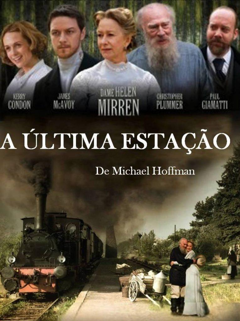 TOLSTOI Filme A ultima estação Cartaz0