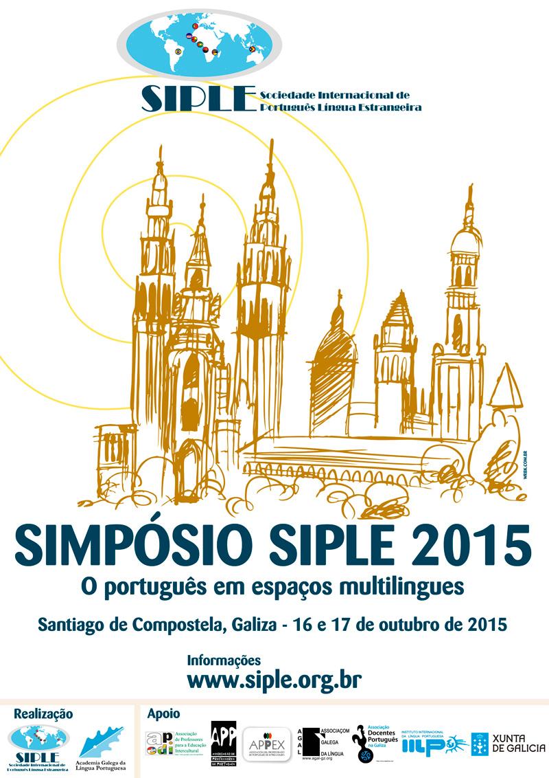 Cartaz do Simpósio SIPLE 2015