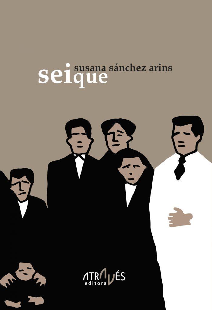 Capa de 'seique', de Susana Sánchez Arins (Através Editora, 2015)