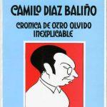 Capa do livro dedicado a Camilo Dias Balinho