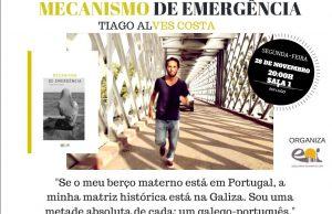 Apresentação de 'Mecanismo de Emergência' de Tiago Alves Costa em Lugo @ EOI de Lugo (Rolda José Castinheira, 1) | Lugo | Galicia | Espanha