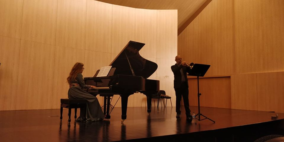 Concerto no conservatório compostelano, 3 de maio de 2018