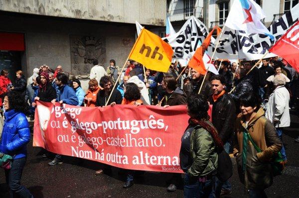 Foto Arquivo Diário Liberdade, manifestaçom 2013