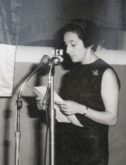 Glória de Sant'Anna, Conferência da Cidade, Porto Amélia, Moçambique, 1968