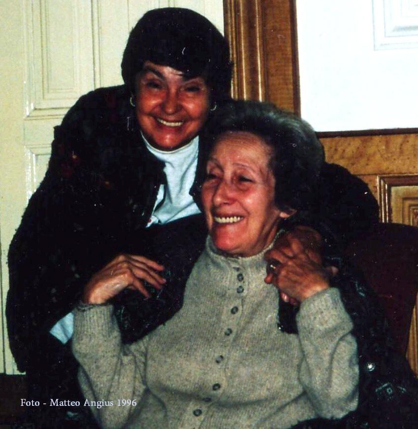 Fernanda Angius e Glória de Sant'Anna, Válega, Portugal, 1987