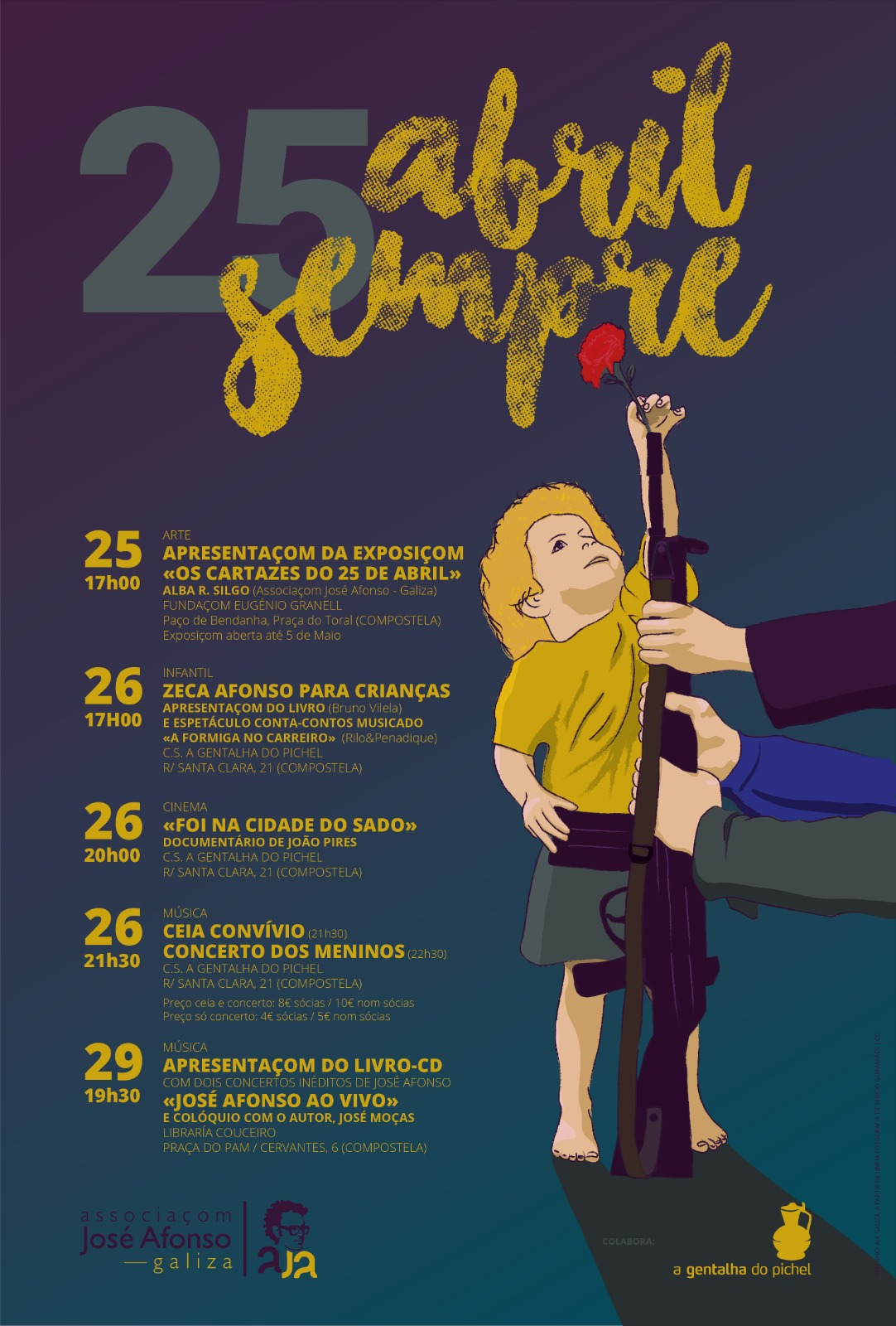 25 de abril aja galiza