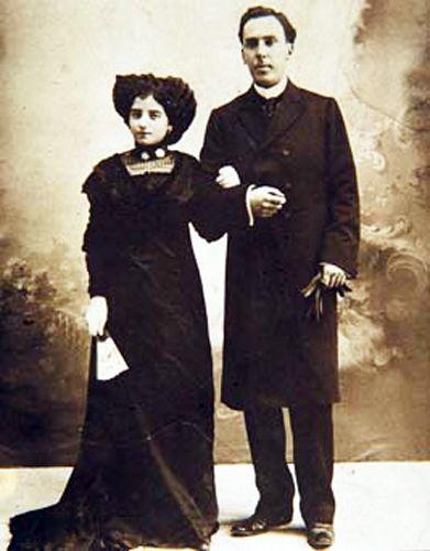 antonio machado e esposa