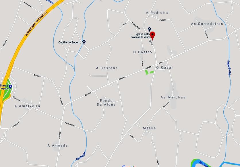 mapa Vila Maior Carlos  C Varela