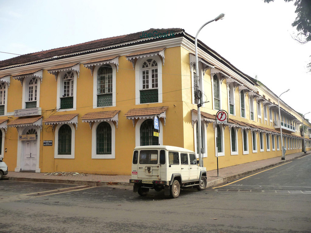 Prédio do Instituto Vasco da Gama de Goa.