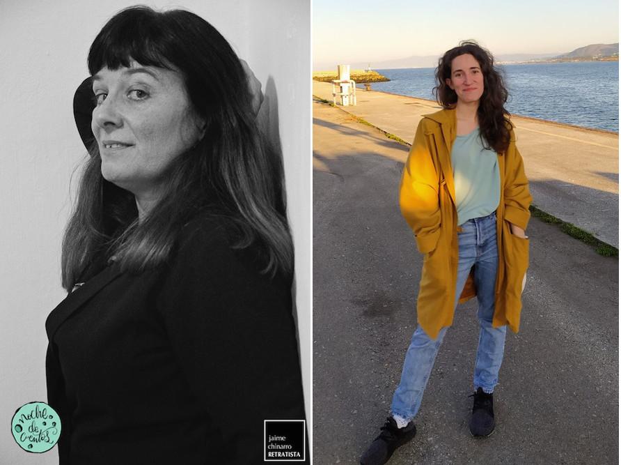 Charo Pita, ganhadora da ediçom, e Laura R. Cuba, accessit, publicarám os livros no ano próximo.